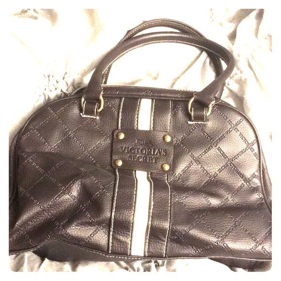 Victoria's Secret Handbags - Small to medium brown bowling bag purse